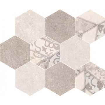 Епока мозайка хексагон