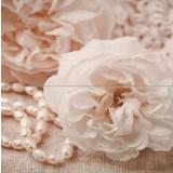 Роза с перли