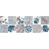 Faenza blue patchwork decor