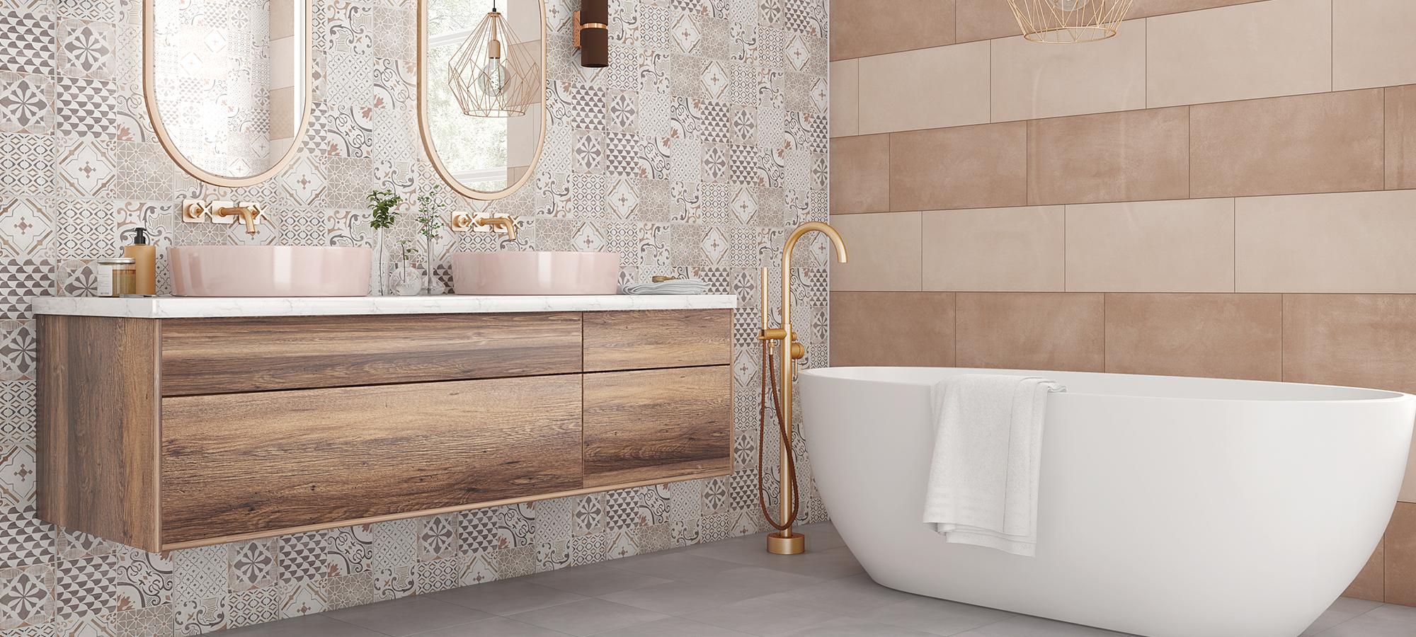 Добавете стил във вашата баня със серия Майолика